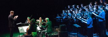 """Premiered """"Another Secret eQuation"""" by Terry Riley with the Kronos Quartet at CalPerformances (Berkeley)"""