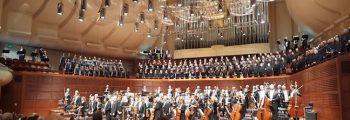 Performed Berlioz's Requiem with the San Francisco Symphony and Chorus, Maestro Charles Dutoit, conducting